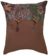 True Timber Mixed Pine Square Throw Pillow in Green
