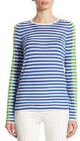 Akris Punto Striped Wool Pullover