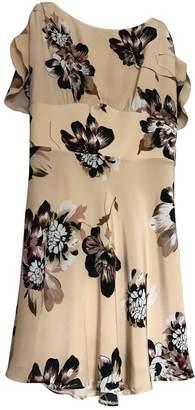 Betty Blue Beige Silk Dress for Women