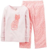Carter's 2 Piece Pant PJ Set (Baby) - Cat-24 Months