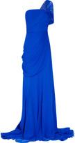 Jason Wu One-shoulder silk-chiffon gown