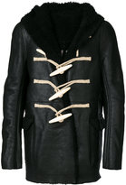 Rick Owens shearling coat - men - Calf Leather/Sheep Skin/Shearling/Bone - 50