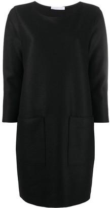 Harris Wharf London Long-Sleeve Shift Dress