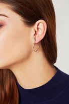 BCBGeneration Tiered Hoop Earrings - Silver