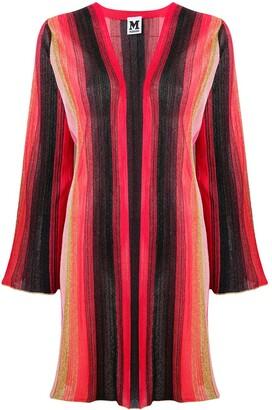 M Missoni striped knitted cardigan