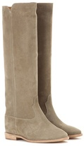 Etoile Isabel Marant Cleave Concealed Wedge Suede Boots