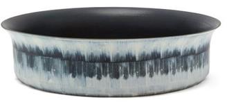L'OBJET Lobjet - Tribal Porcelain Platter - Black Grey