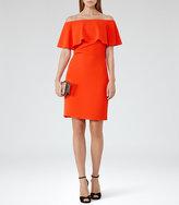 Reiss Balm Off-The-Shoulder Dress