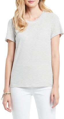 Nic+Zoe Mini Cape Stripe T-Shirt