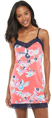 Josie Women's by Natori Lace Trim Chemise