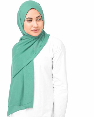 Silk Route InEssence Olive Oil Viscose Woven Scarf Women Girls Wrap Large Size Hijab