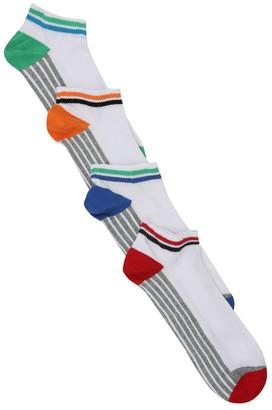 M&Co White trainer socks four pack