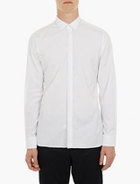 Lanvin White Stitch-detail Shirt