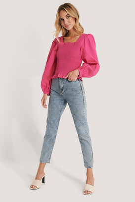 Trendyol Acid Wash High Waist Mom Jeans