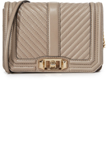Rebecca Minkoff Chevron Quilted Small Cross Body Bag