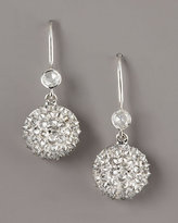 Nam Cho Diamond Half-Ball Earrings