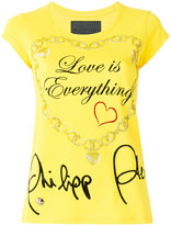 Philipp Plein Love Is Everything T-shirt - women - Cotton - XS
