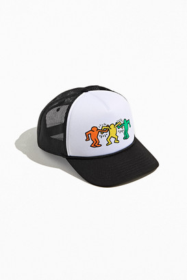 Urban Outfitters Keith Haring Dancing Figures Trucker Hat
