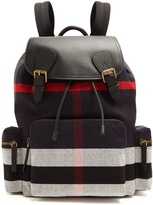 Burberry The Large canvas backpack