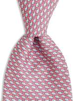 Vineyard Vines Boys' Whale Print Silk Tie