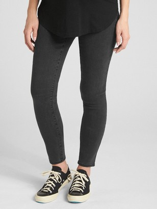 Gap Maternity Soft Wear Inset Panel True Skinny Jeans