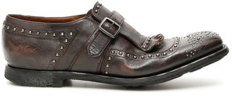Church's Monk Buckle Flat Shoes