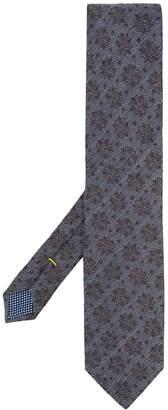 Eton floral print tie