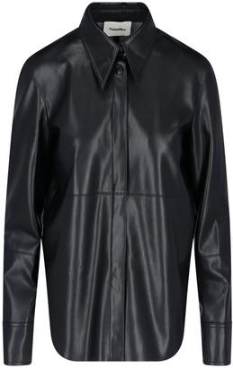 Nanushka Faux Leather Shirt