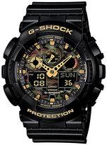 G-Shock Camo Black Resin Strap Watch