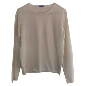 Malo White Cashmere Knitwear for Women