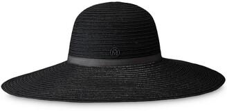 Maison Michel Blanche fedora hat