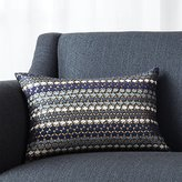 "Crate & Barrel Capshaw 18""x12"" Pillow"