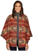 Pendleton Aurora Zip Front Cape Women's Coat