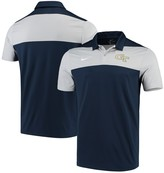 Nike Georgia Tech Yellow Jackets Color Block Performance Polo Navy