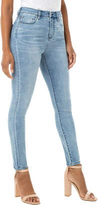 Liverpool Abby High Waist Ankle Skinny Jeans