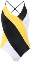 BRIGITTE colour block swimsuit