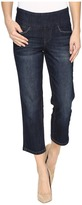 Jag Jeans Baker Pull-On Crop Comfort Denim in Night Breeze Women's Jeans