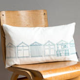 Joanna Corney Beach Hut Cushion