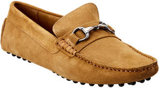 Rush by Gordon Rush Bit Suede Loafer