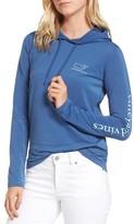 Vineyard Vines Women's Whale Tail Hooded Tee