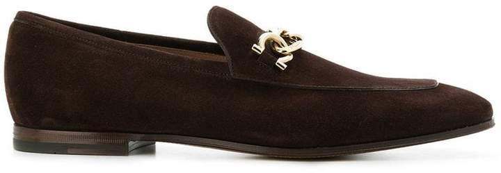 Salvatore Ferragamo chain loafers