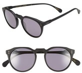 Raen Men's 'Remmy' 49Mm Polarized Sunglasses - Matte Black