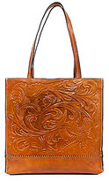 Patricia Nash Floral-Embossed Toscano Tote