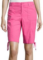 ST. JOHN'S BAY Secretly Slender Cargo Bermuda Shorts