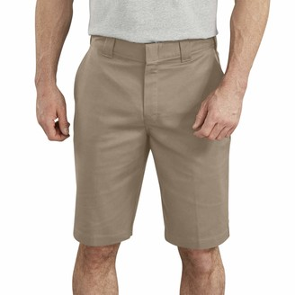 Dickies Men's 11 Inch Flex Flat Front Active Waist Short