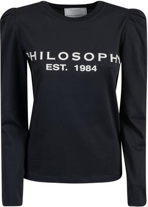 Philosophy di Lorenzo Serafini Est 1984 Print Longsleeved T-shirt