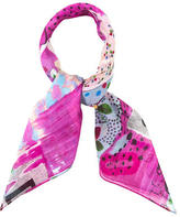 Christian Dior Multicolor Abstract Scarf w/ Tags