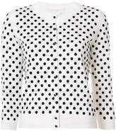 Marc Jacobs polka dot cropped sleeve cardigan