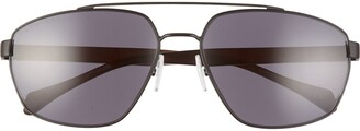 BOSS 61mm Polarized Aviator Sunglasses