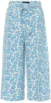Polo Ralph Lauren Floral silk-blend culottes